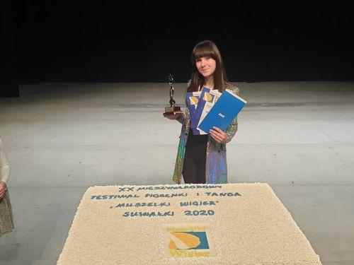 Vanessa - zwyciężczyni konkursu
