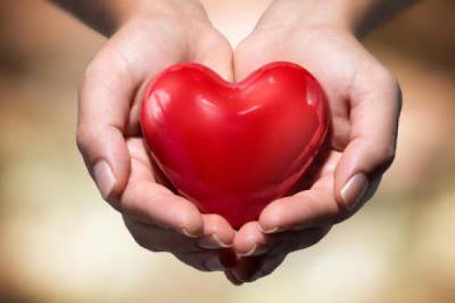 Serce na dłoniach