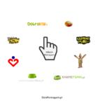 Logo akcji pomaganie przez klikanie