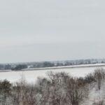 Zima widok
