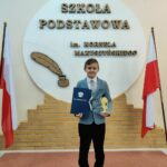 Uczeń z nagrodą
