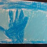 Niebieska dłoń