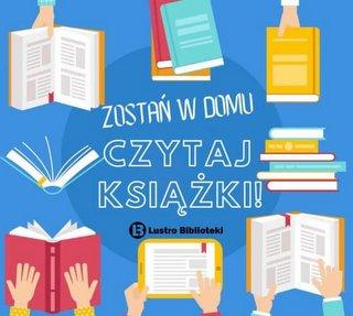 Plakat z książkami