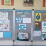 Gazetka szkolna - wystawa prac uczniów