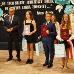 Nagrodzeni uczniowie - Nagroda Wójta
