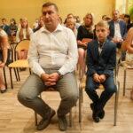 Uczeń z rodzicem