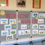 Gazetka szkolna - Bezpieczne wakacje