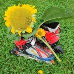 Rolki w kwiatach