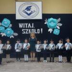 Rozpoczęcie roku szkolnego - pasowanie uczniów klasy I