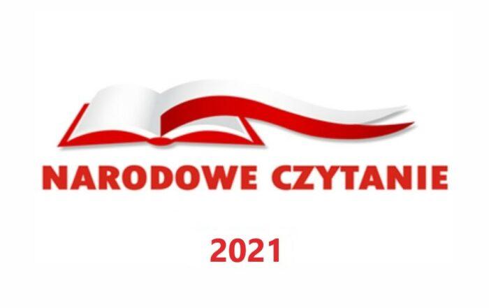 Logo - Narodowe czytanie